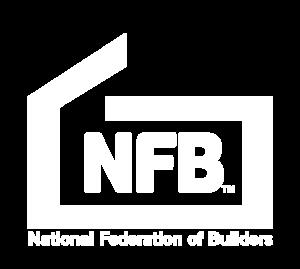 NFB new logo White